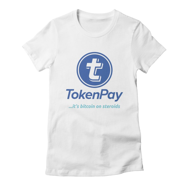 TokenPay Women's Fitted T-Shirt by HODL's Artist Shop