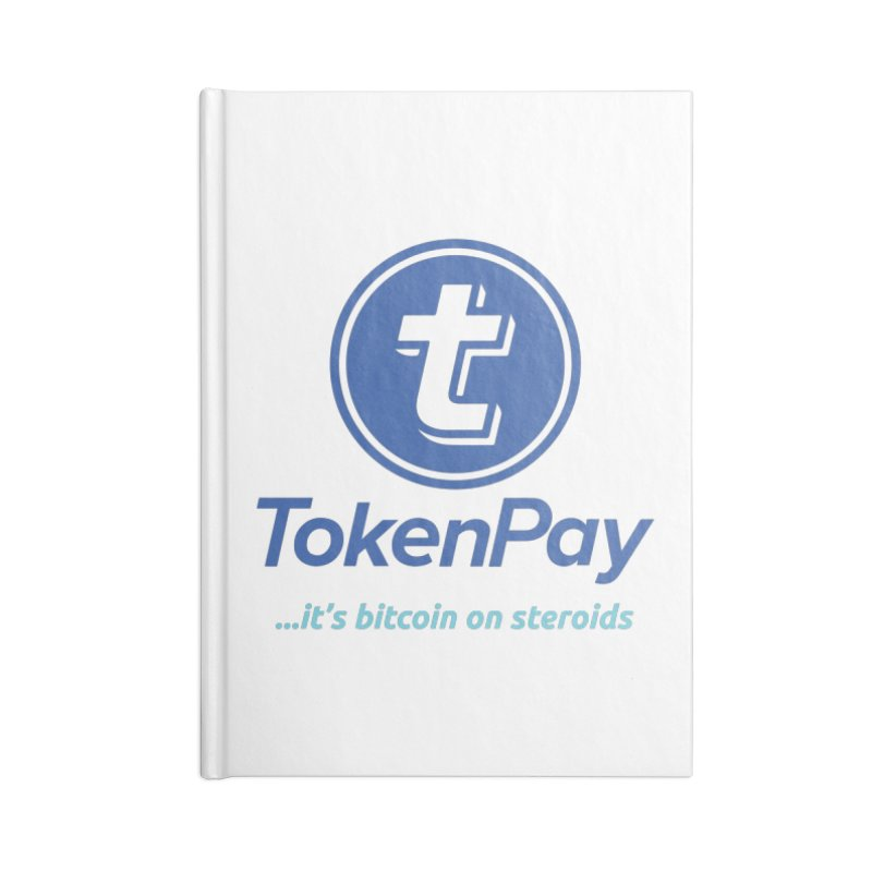 TokenPay Accessories Blank Journal Notebook by HODL's Artist Shop