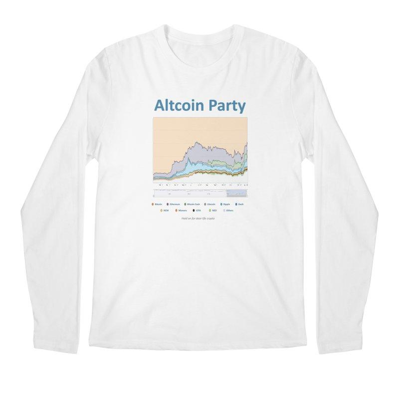 Altcoin Party Men's Regular Longsleeve T-Shirt by HODL's Artist Shop