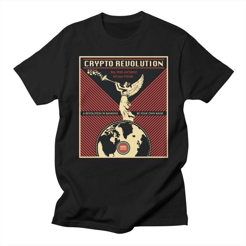 Crypto Revolution Men's T-Shirt by HODL's Artist Shop