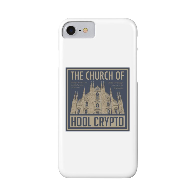 Church of HODL CRYPTO Accessories Phone Case by HODL's Artist Shop