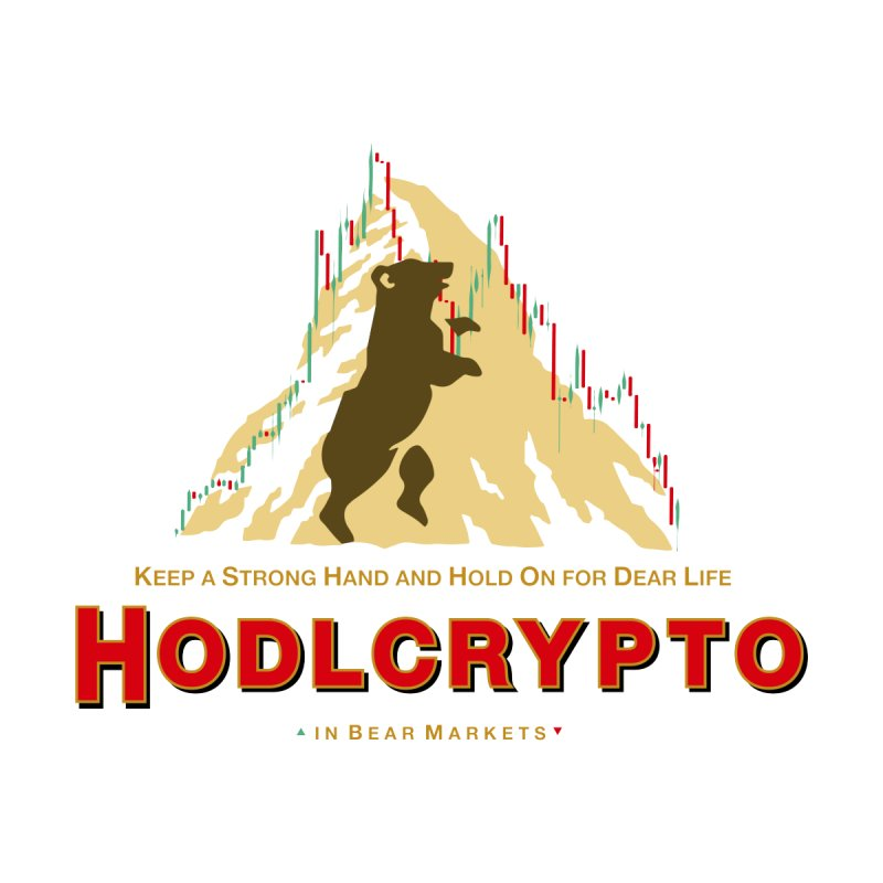 HODL in Bear Markets Men's T-Shirt by HODL's Artist Shop