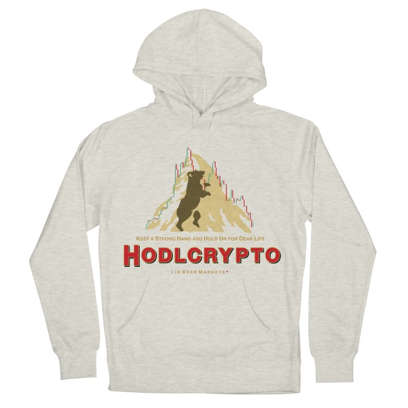 HODL in Bear Markets Men's Pullover Hoody by HODL's Artist Shop