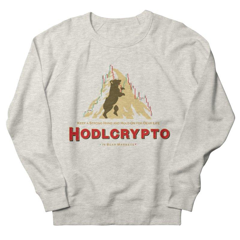 HODL in Bear Markets Men's Sweatshirt by HODL's Artist Shop