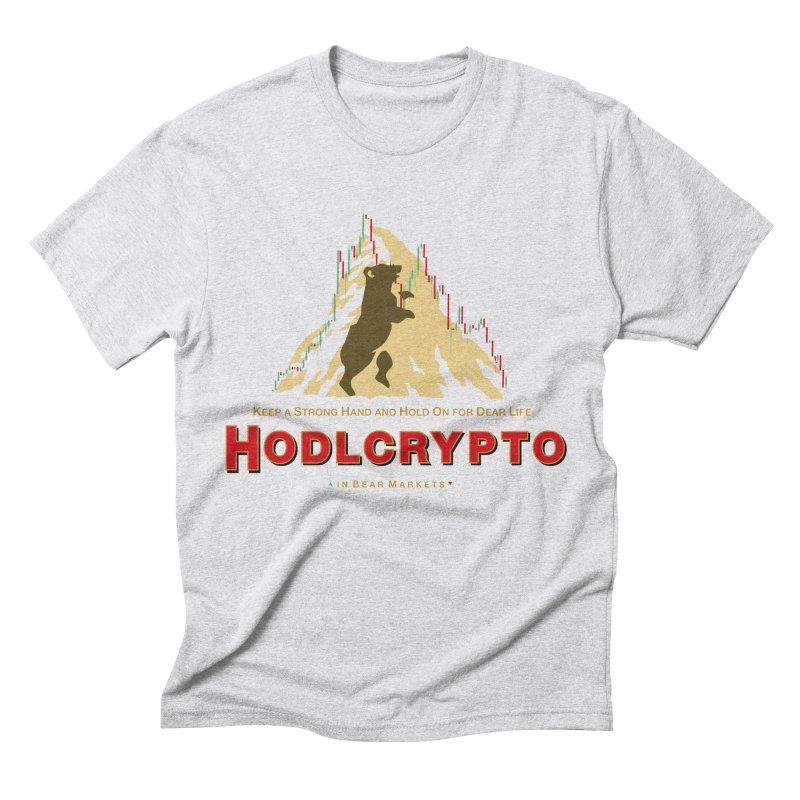 HODL in Bear Markets Men's Triblend T-Shirt by HODL's Artist Shop