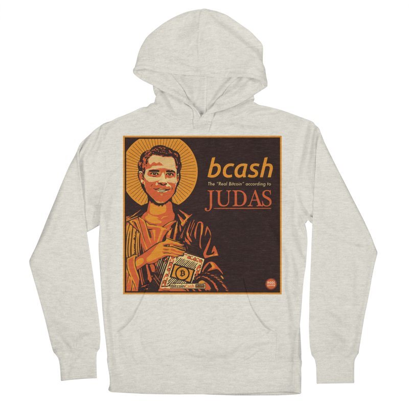 Roger Ver Bitcoin Judas Men's French Terry Pullover Hoody by HODL's Artist Shop