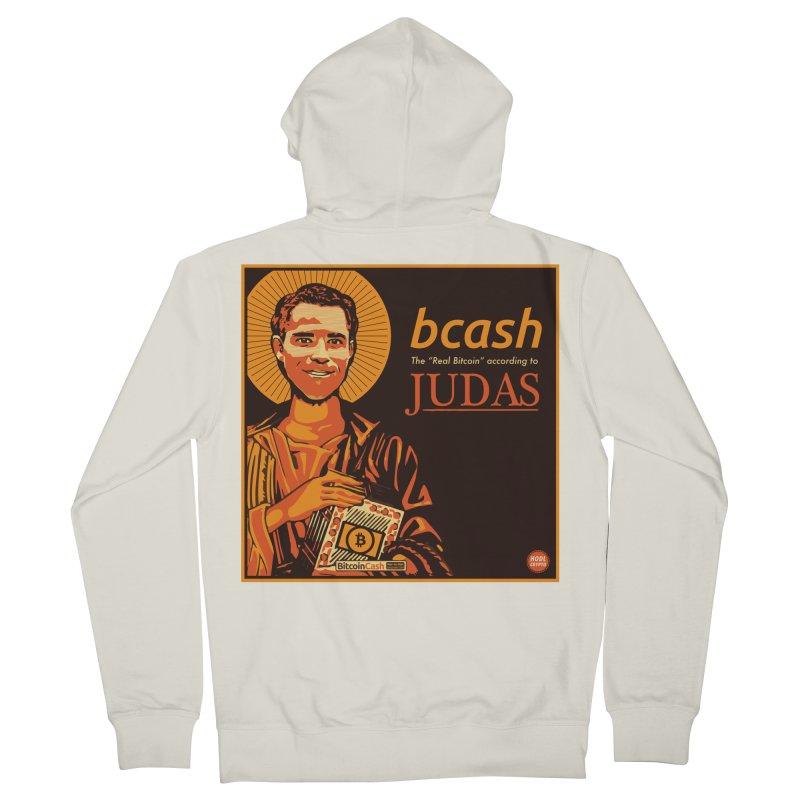 Roger Ver Bitcoin Judas Men's Zip-Up Hoody by HODL's Artist Shop