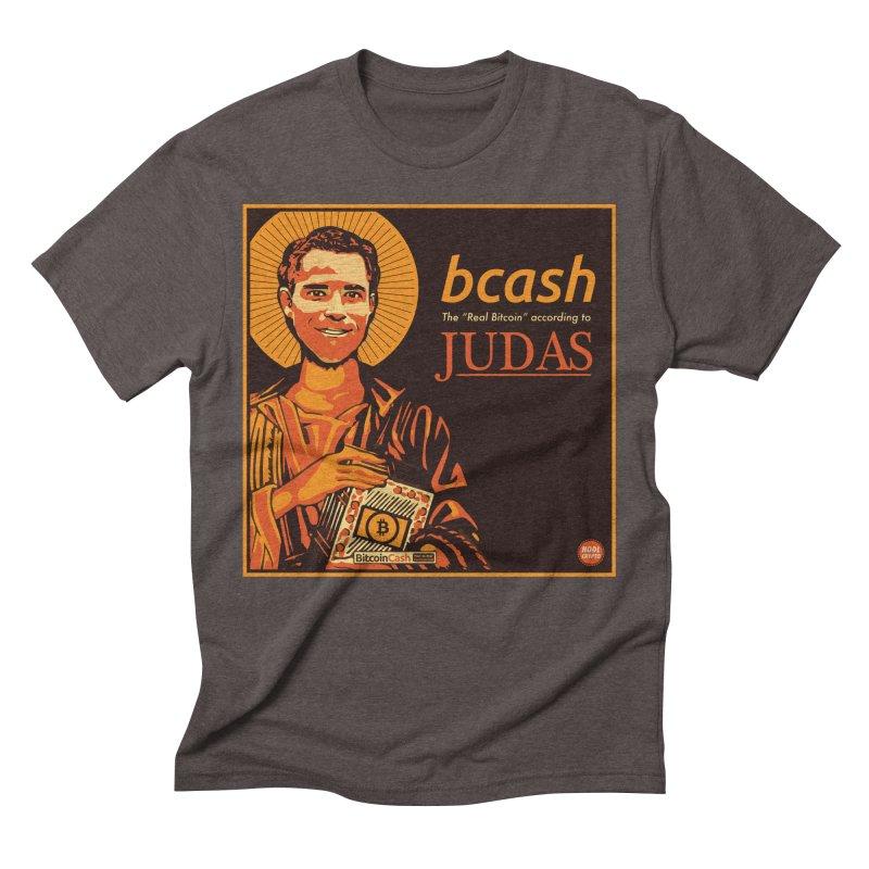 Roger Ver Bitcoin Judas Men's T-Shirt by HODL's Artist Shop