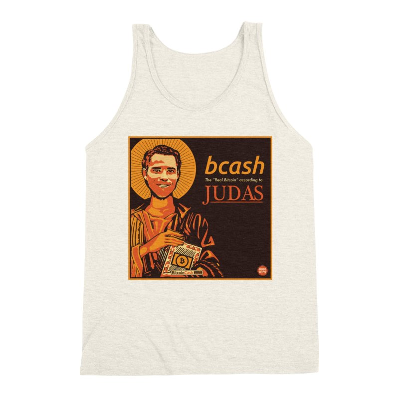 Roger Ver Bitcoin Judas Men's Triblend Tank by HODL's Artist Shop