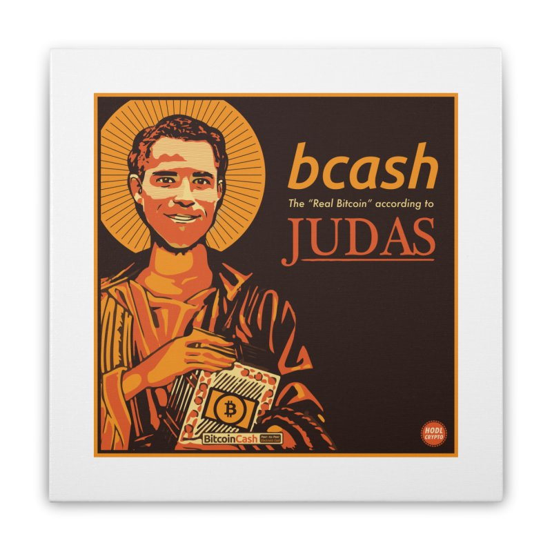 Roger Ver Bitcoin Judas Home Stretched Canvas by HODL's Artist Shop