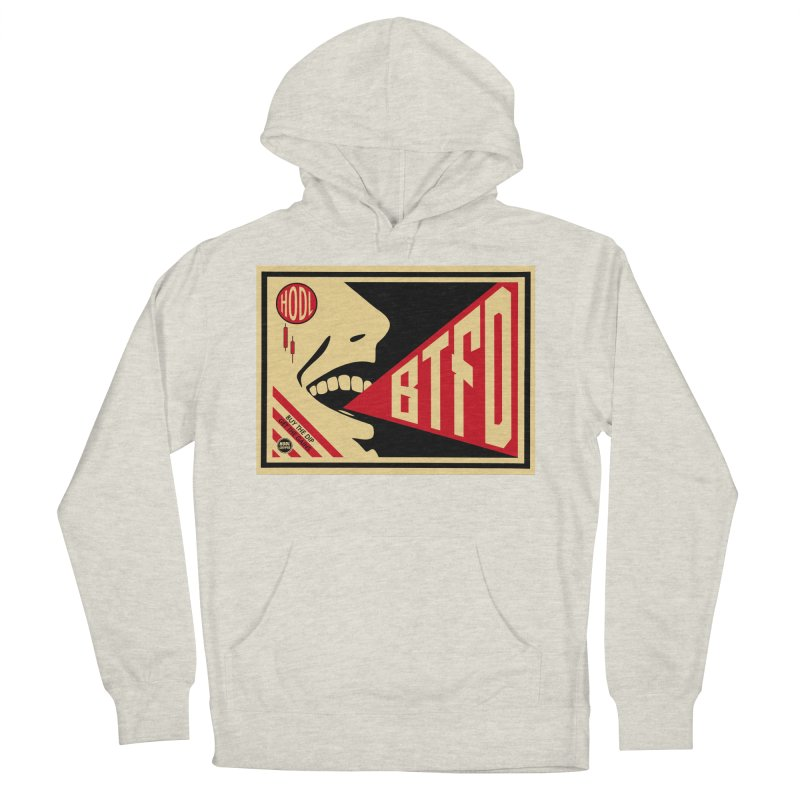 BTFD Men's Pullover Hoody by HODL's Artist Shop