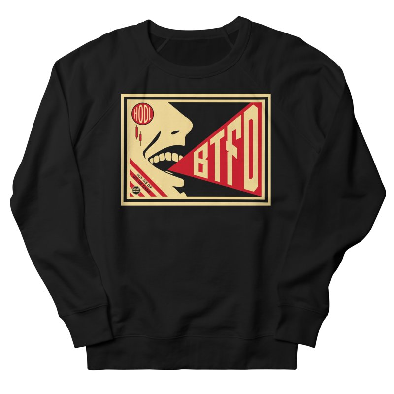 BTFD Men's French Terry Sweatshirt by HODL's Artist Shop