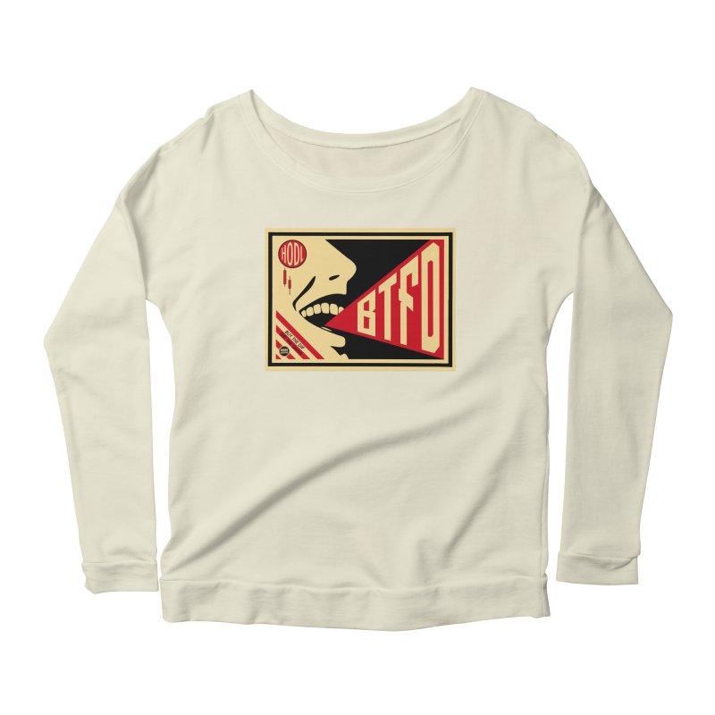 BTFD Women's Scoop Neck Longsleeve T-Shirt by HODL's Artist Shop