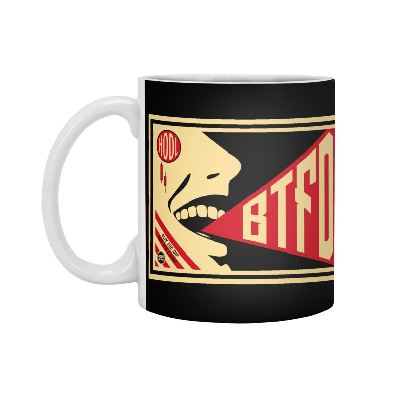 BTFD Accessories Standard Mug by HODL's Artist Shop