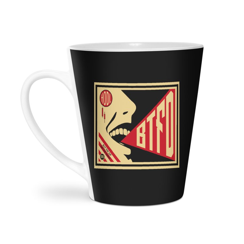 BTFD Accessories Latte Mug by HODL's Artist Shop