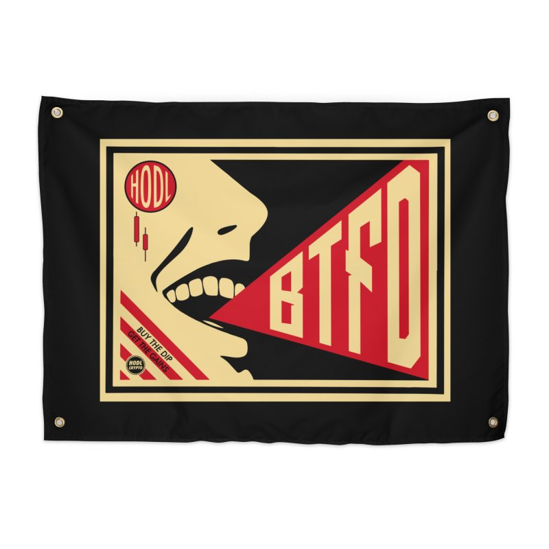 BTFD Home Tapestry by HODL's Artist Shop