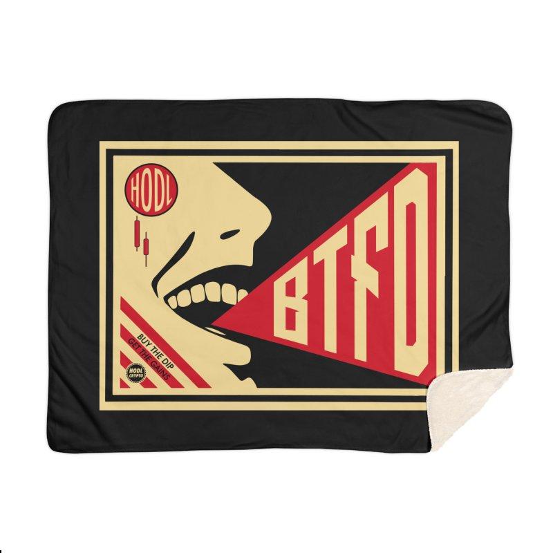 BTFD Home Blanket by HODL's Artist Shop