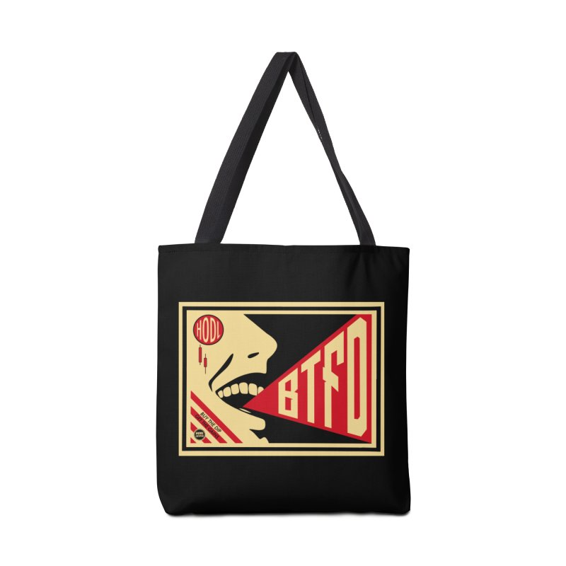BTFD Accessories Tote Bag Bag by HODL's Artist Shop