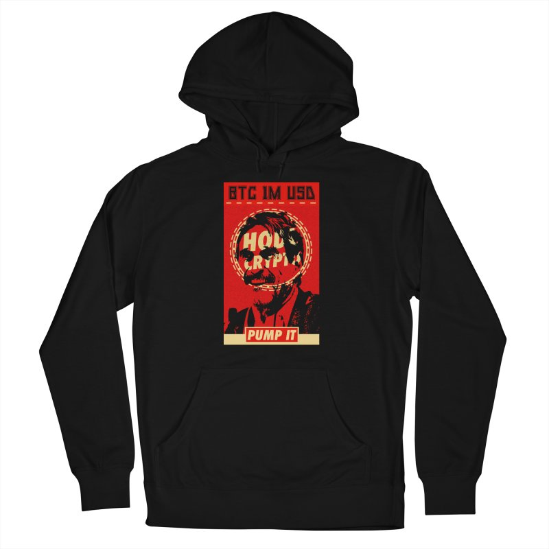 McAfee PUMP IT Men's Pullover Hoody by HODL's Artist Shop