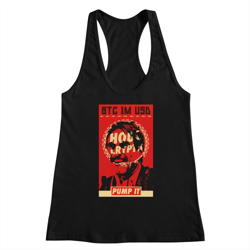 McAfee PUMP IT Women's Tank by HODL's Artist Shop