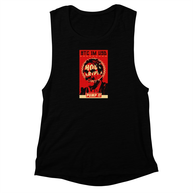 McAfee PUMP IT Women's Muscle Tank by HODL's Artist Shop