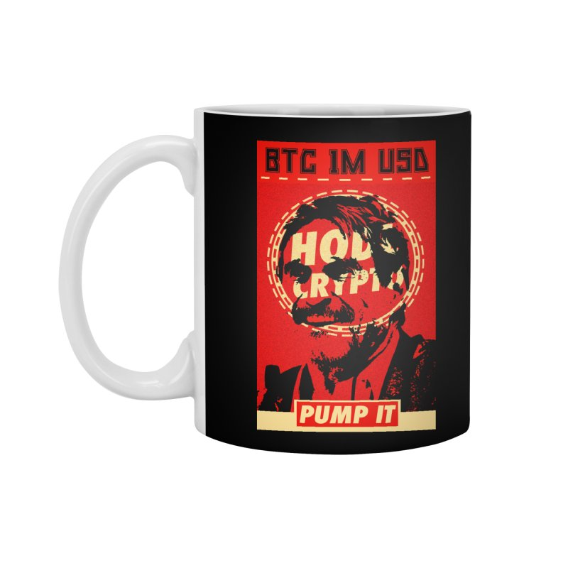 McAfee PUMP IT Accessories Mug by HODL's Artist Shop