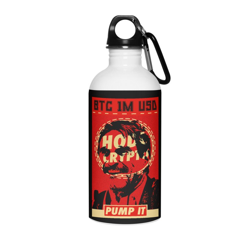 McAfee PUMP IT Accessories Water Bottle by HODL's Artist Shop