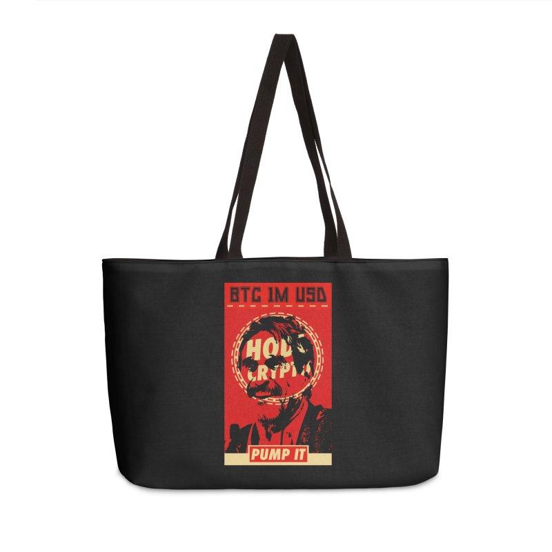 McAfee PUMP IT Accessories Bag by HODL's Artist Shop