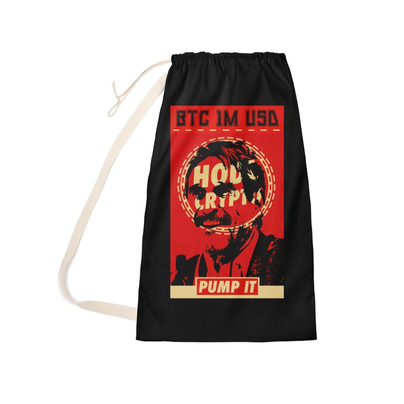 McAfee PUMP IT Accessories Laundry Bag Bag by HODL's Artist Shop