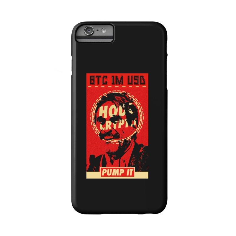 McAfee PUMP IT Accessories Phone Case by HODL's Artist Shop