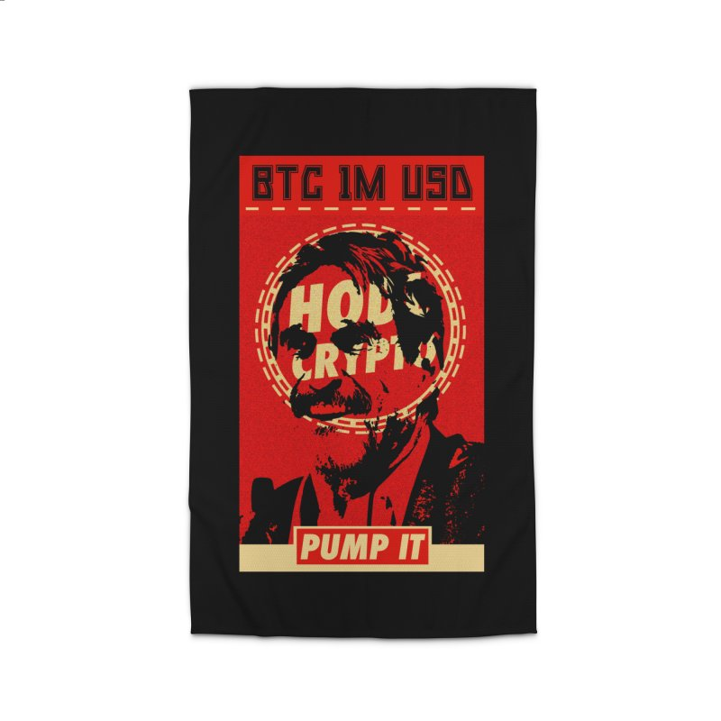 McAfee PUMP IT Home Rug by HODL's Artist Shop
