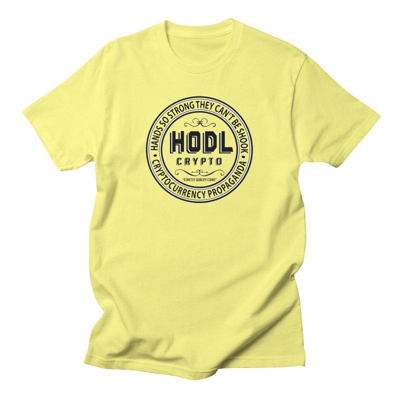 Hands So Strong Men's T-Shirt by HODL's Artist Shop