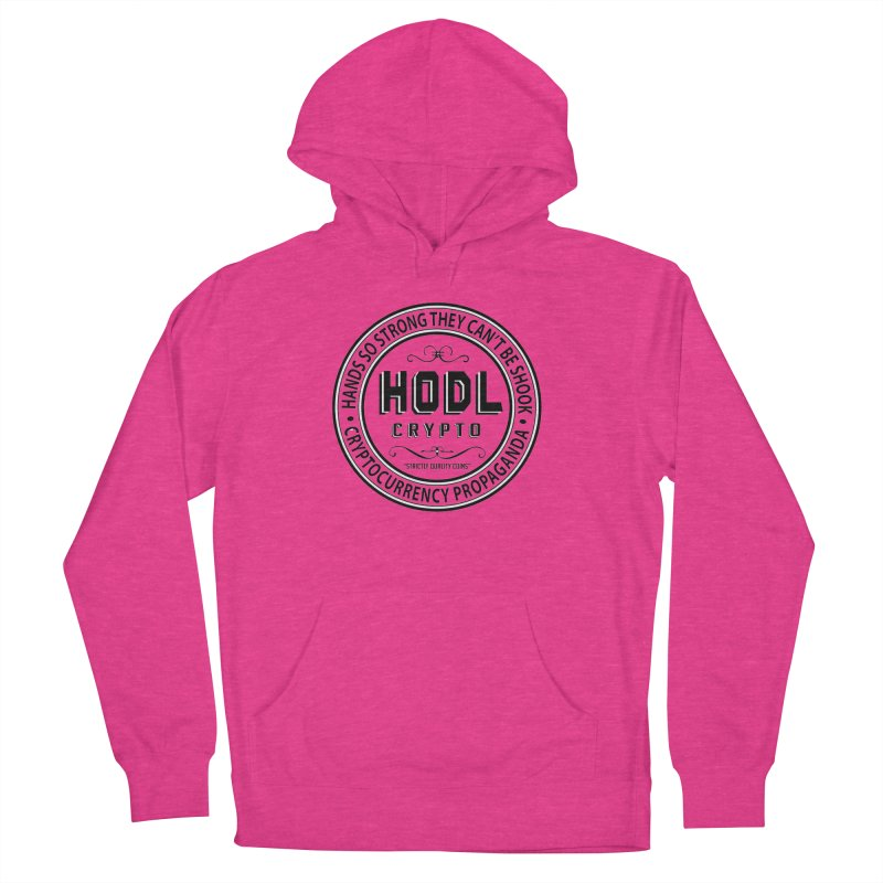 Hands So Strong Women's French Terry Pullover Hoody by HODL's Artist Shop