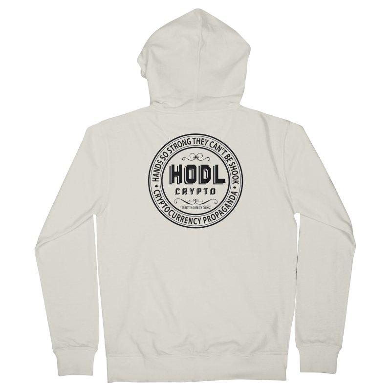Hands So Strong Men's Zip-Up Hoody by HODL's Artist Shop