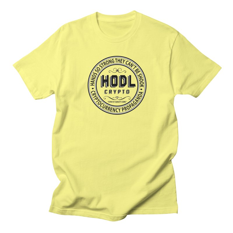 Hands So Strong Men's T-Shirt by HODL's Artist Shop