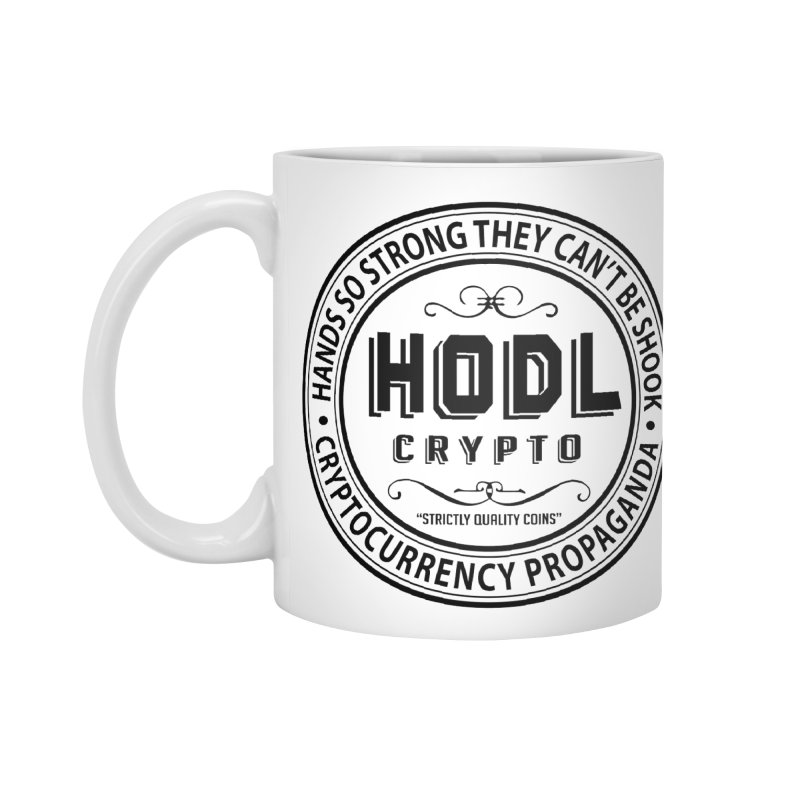 Hands So Strong Accessories Standard Mug by HODL's Artist Shop