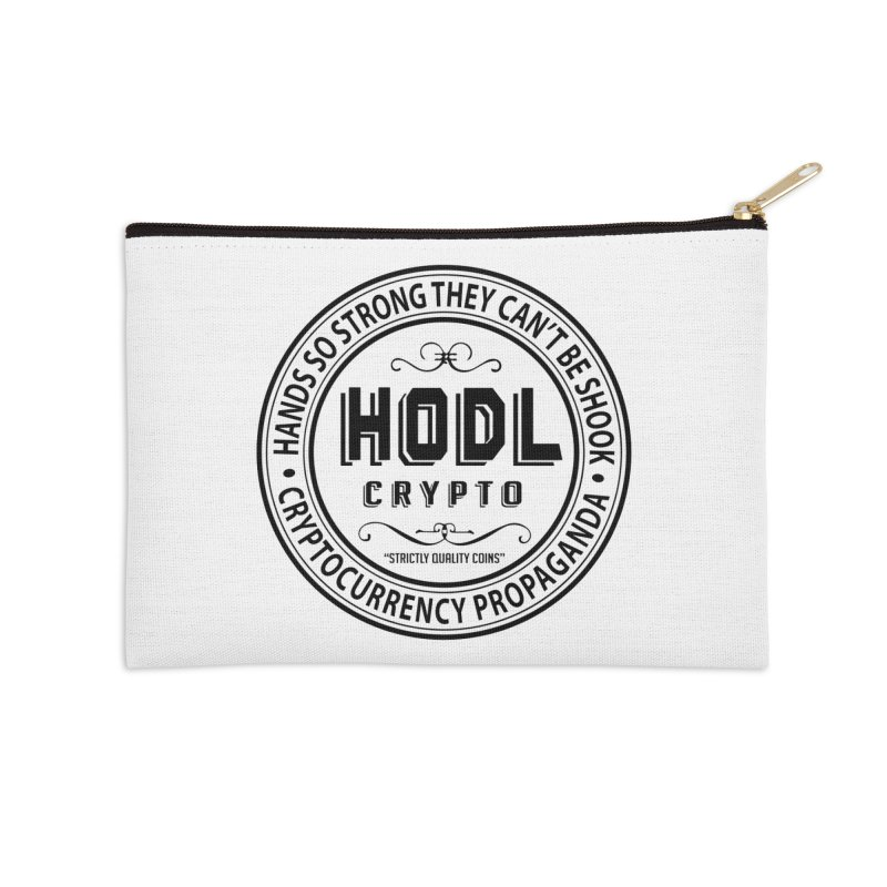 Hands So Strong Accessories Zip Pouch by HODL's Artist Shop