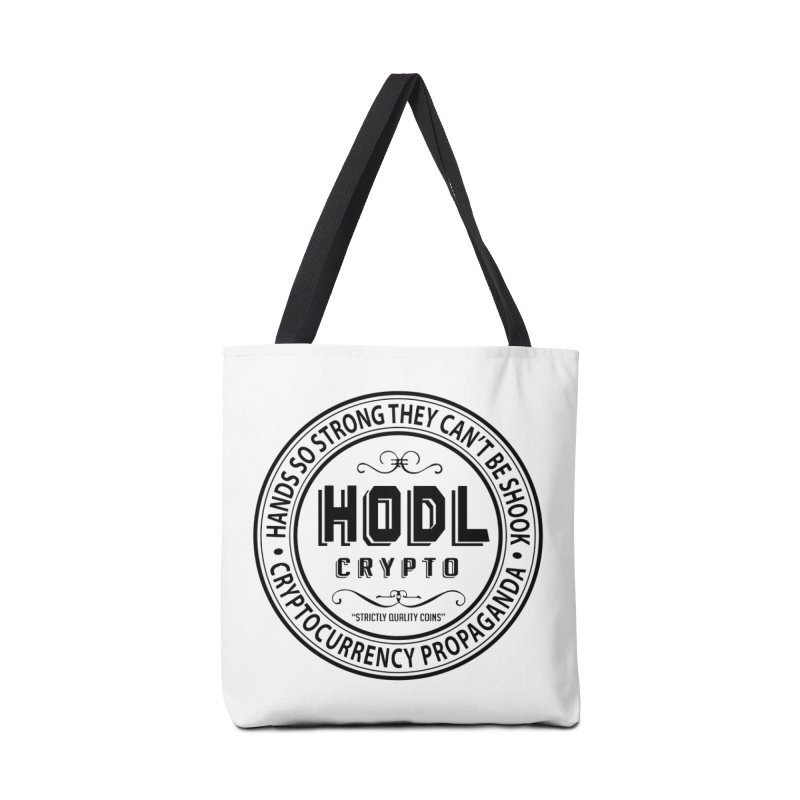 Hands So Strong Accessories Bag by HODL's Artist Shop