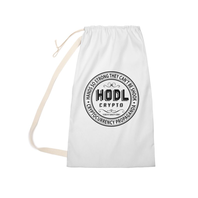 Hands So Strong Accessories Laundry Bag Bag by HODL's Artist Shop