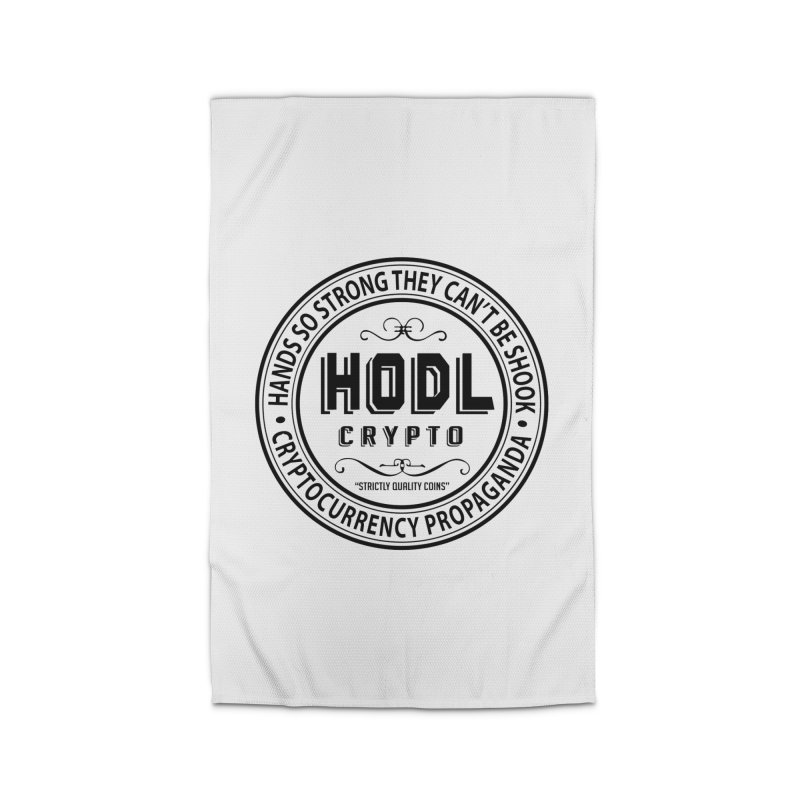 Hands So Strong Home Rug by HODL's Artist Shop