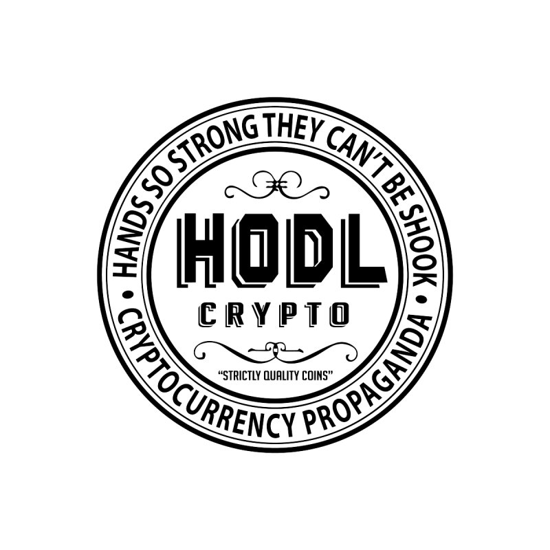 Hands So Strong Men's Zip-Up Hoody by HODL's Artist Shop
