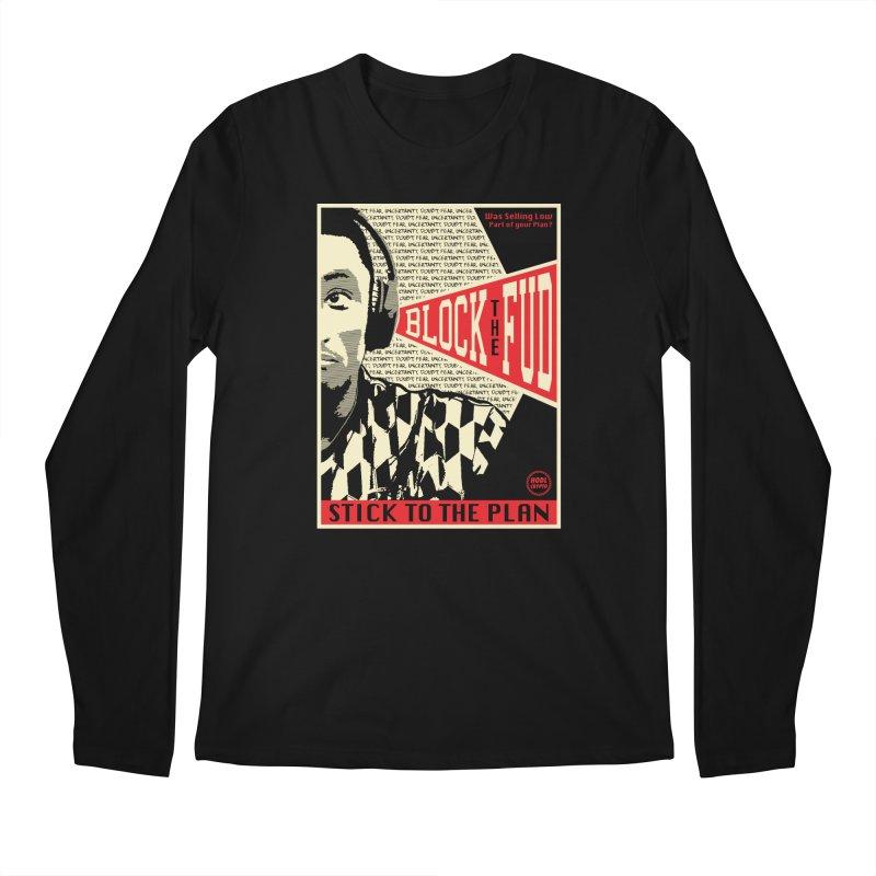 Block the Fud Men's Longsleeve T-Shirt by HODL's Artist Shop
