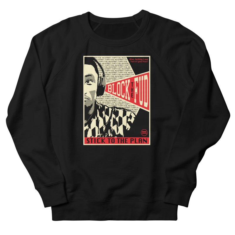 Block the Fud Men's French Terry Sweatshirt by HODL's Artist Shop