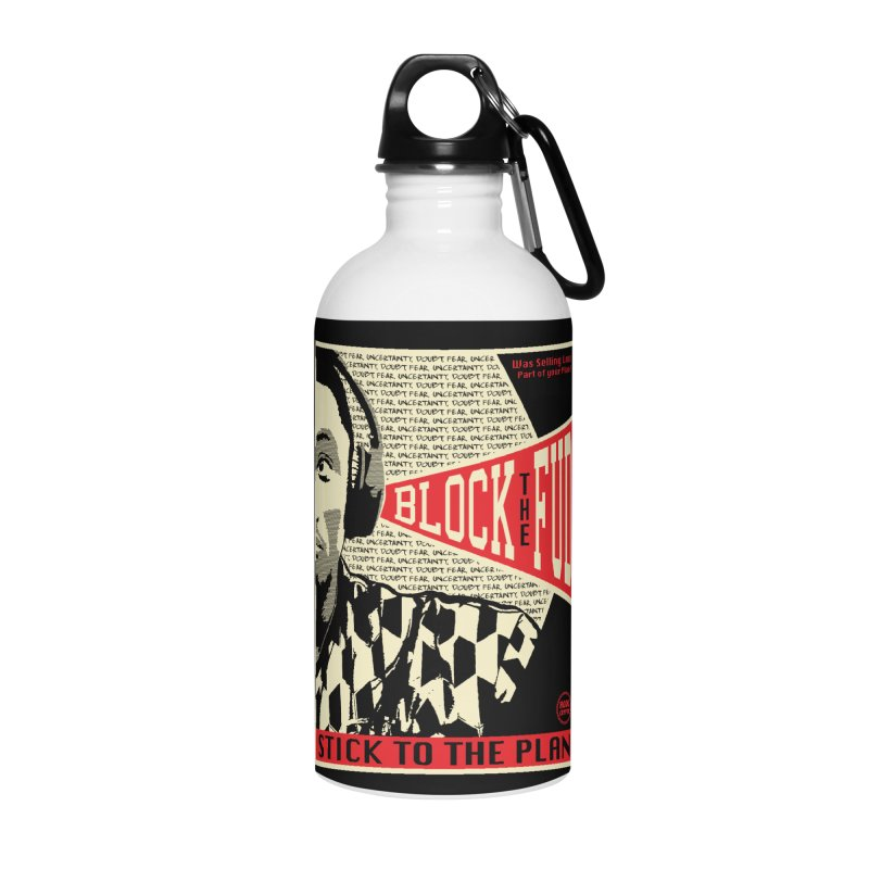 Block the Fud Accessories Water Bottle by HODL's Artist Shop