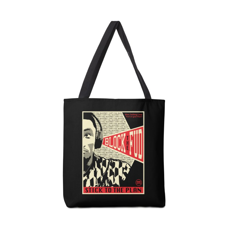 Block the Fud Accessories Tote Bag Bag by HODL's Artist Shop