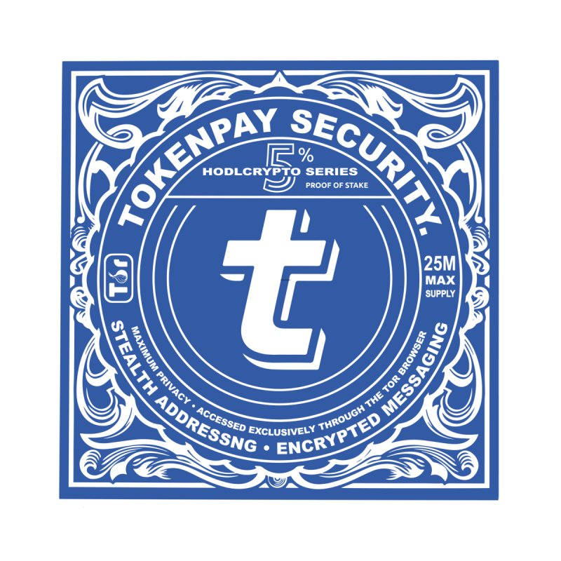 Tokenpay Security Men's Longsleeve T-Shirt by HODL's Artist Shop
