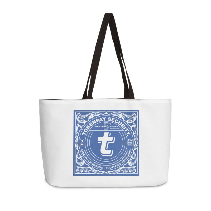 Tokenpay Security Accessories Weekender Bag Bag by HODL's Artist Shop
