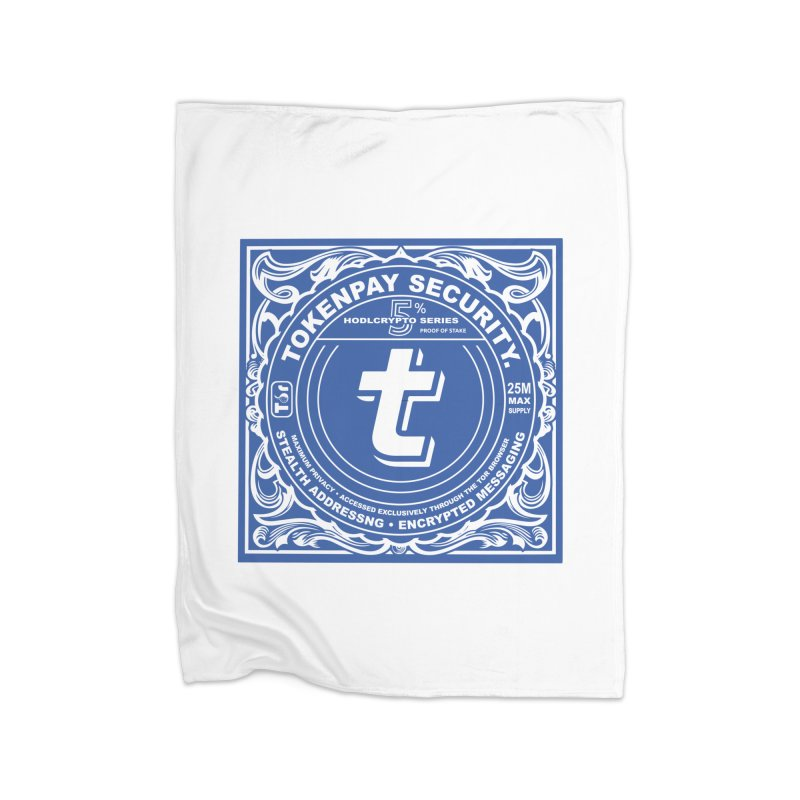 Tokenpay Security Home Fleece Blanket Blanket by HODL's Artist Shop