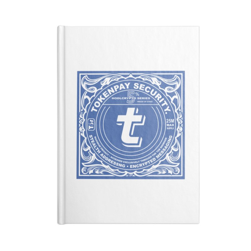 Tokenpay Security Accessories Notebook by HODL's Artist Shop