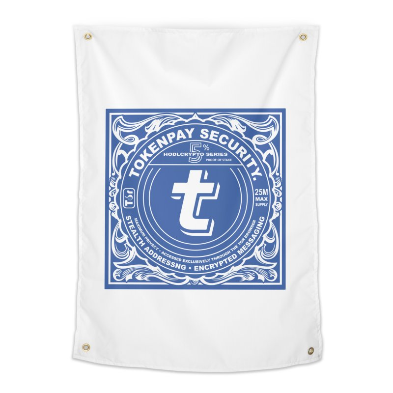 Tokenpay Security Home Tapestry by HODL's Artist Shop